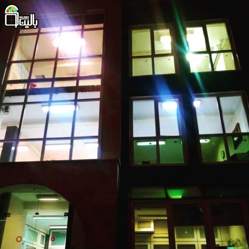 پنجره دوجداره در عظیمیه با رنگ دلخواه