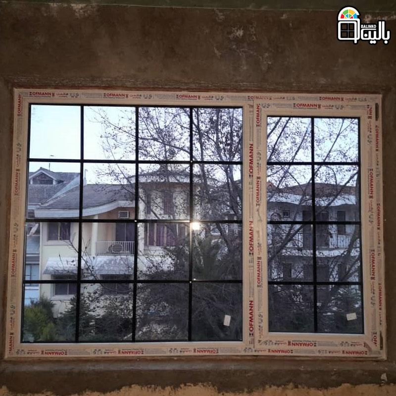 پنجره upvc در متل قو و نمک آبرود