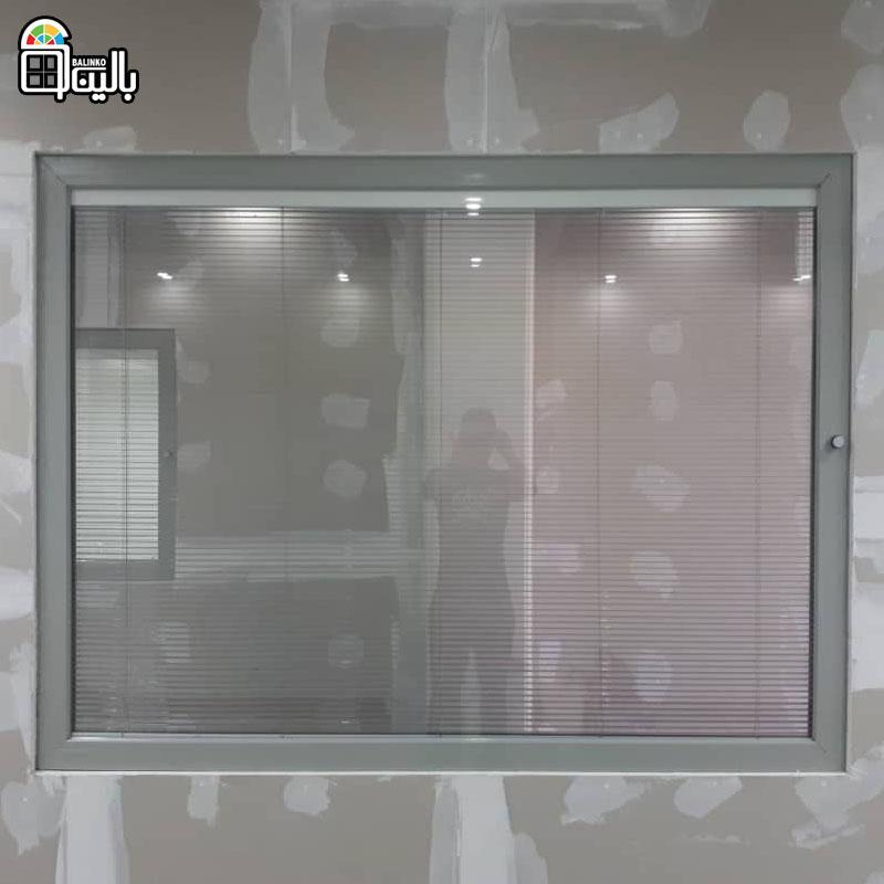 پنجره آلومینیوم ترمال بریک در متل قو و نمک آبرود