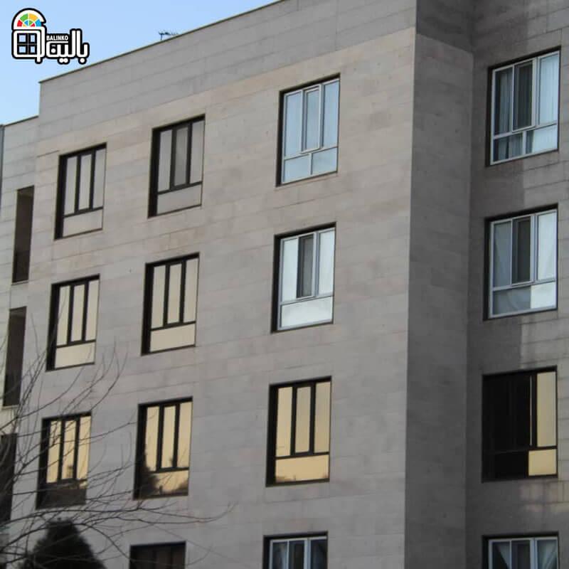پنجره دوجداره در گلشهر به رنگ دلخواه