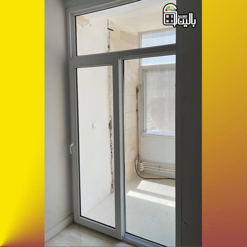 انواع پنجره تک ریل با کیفیت بالا