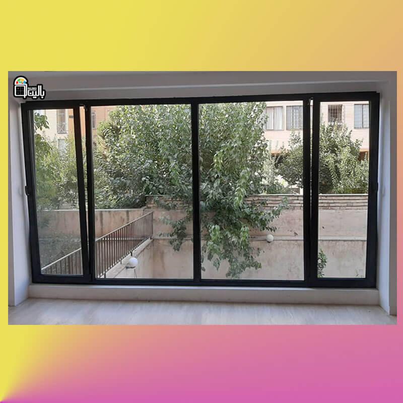 مقاوم ترین پنجره آلومینیوم با کیفیتی مناسب